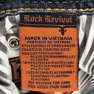 Rock Revival Shorts - Rock Revival Raven Short  Denim Jean Shorts Bling